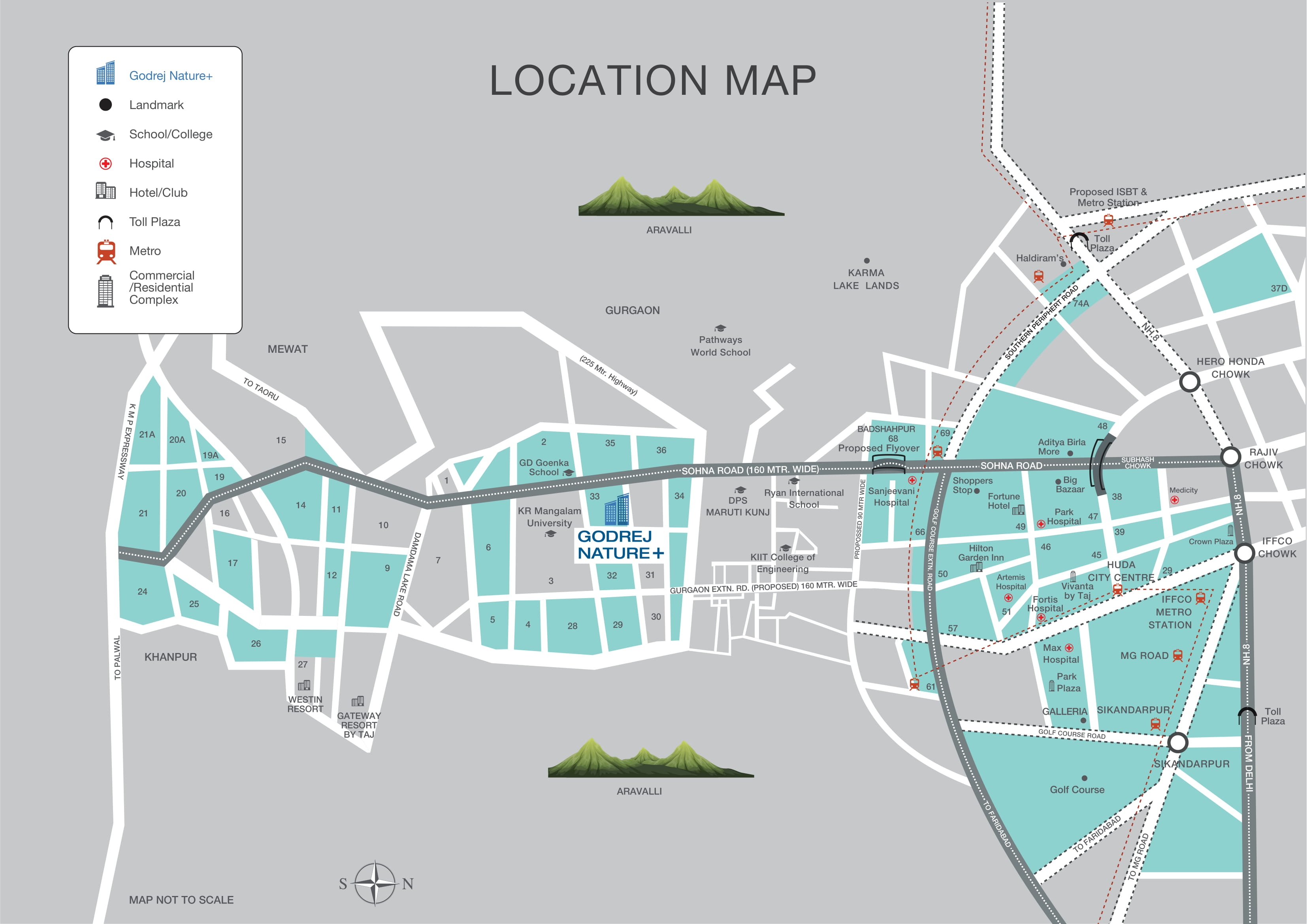 Godrej-Nature-Location-Map
